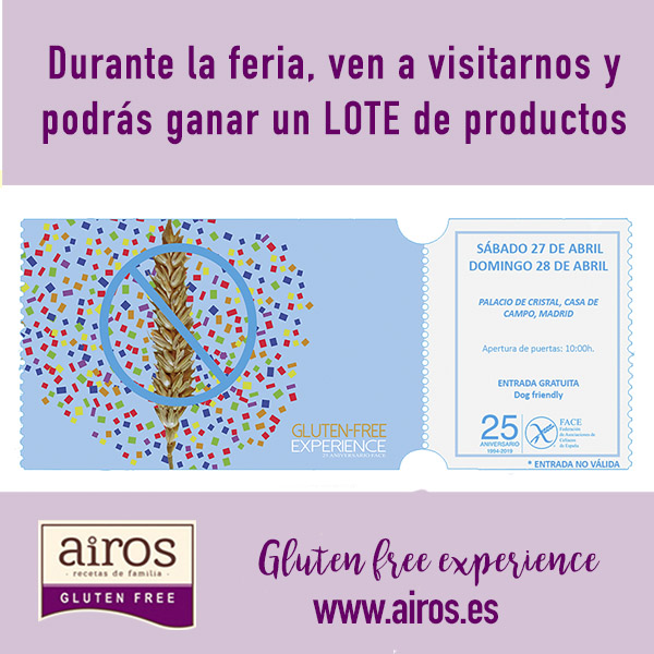 AIROS at the GLUTEN FREE EXPERIENCE
